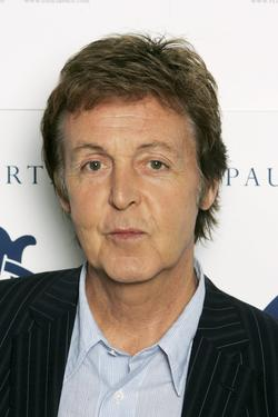 Paul McCartney at the promotion of &quot;Ecce Cor Meum (Behold My Heart).&quot;